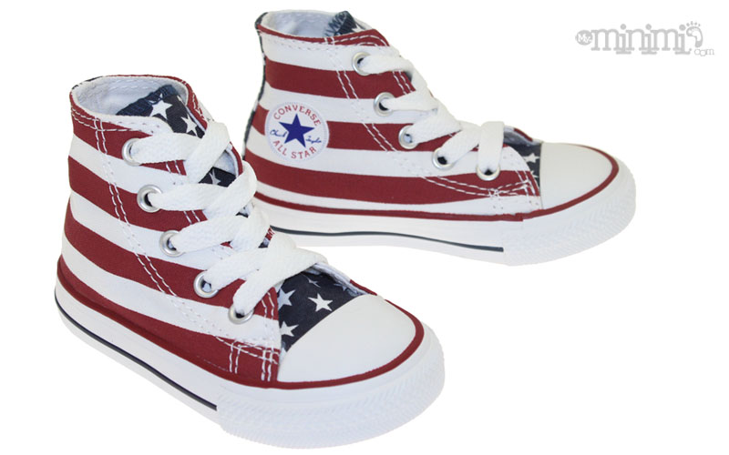 converse drapeau américain