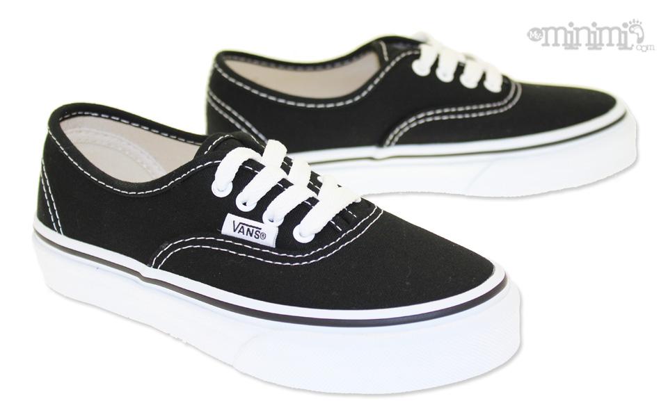 vans noir et blanche