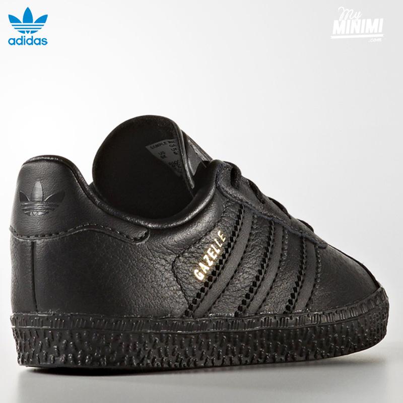... Photo Adidas Gazelle 1 - Baskets enfants du 19 au 27 - Noire ...