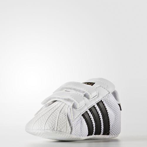 best service 25938 ba73e adidas superstar crib bebe,chaussures adidas superstar crib bebe blanche et noire  vue interieure