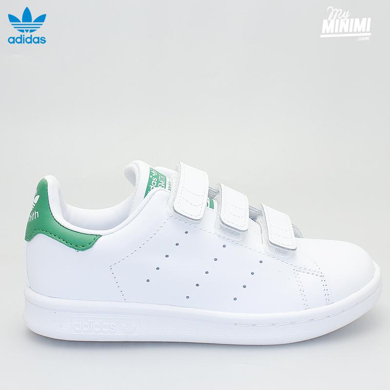 adidas stan smith blanc vert