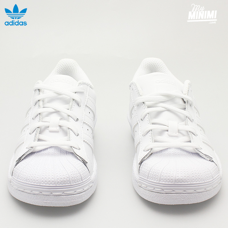 Photo adidas Superstar CF C Basket enfant du 28 au 35 blanc
