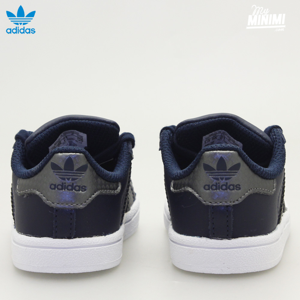 ... Photo adidas Superstar I Premium - baskets pour enfant du 19 au 26 - marine et ...