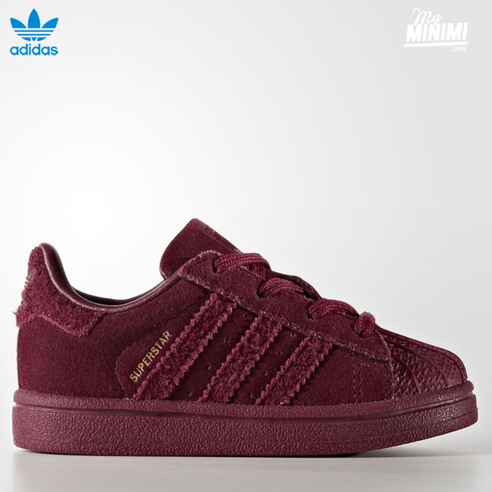 Adidas Superstar I Superstar Adidas Bordeaux Toddler Bordeaux Toddler Adidas I 4IPqwP