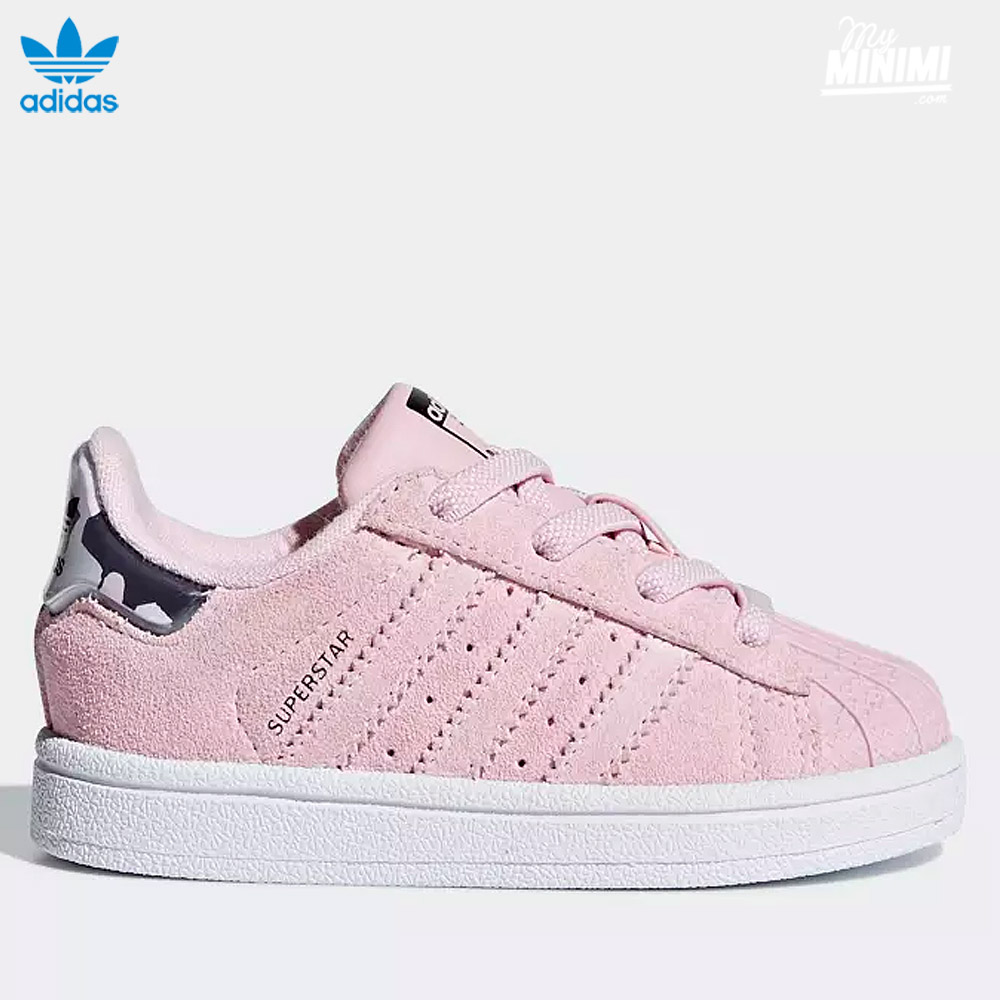 ... Photo adidas Superstar I - baskets pour enfant du 19 au 27 - rose et camo