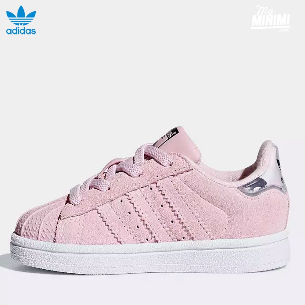 ... Photo adidas Superstar I - baskets pour enfant du 19 au 27 - rose et camo ...