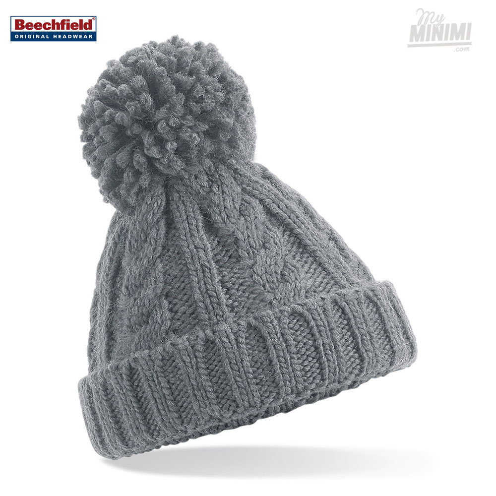 Photo Beechfield Original Bonnet Pompon enfant 3-12 ans
