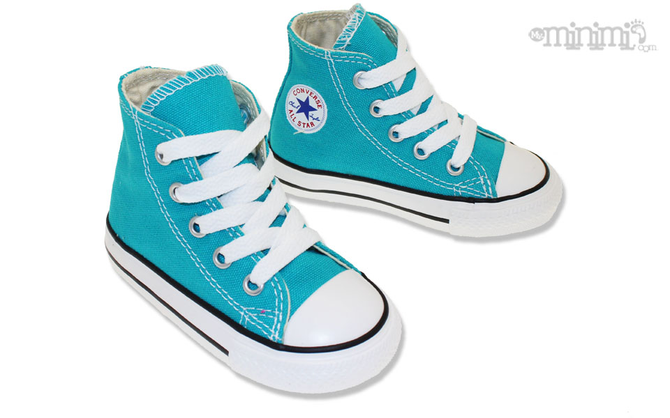 Converse Turquoise Bebe