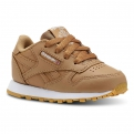 Photo Reebok CL Leather ESTL - Basket enfants du 19 au 26 - Beige