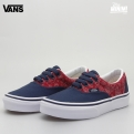 Photo Vans Era - Baskets enfant du 30 au 35 - Bandana rouge et marine