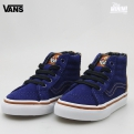 Photo Vans SK8-HI ZIP MTE 66 - baskets enfants du 19 au 26 - Blue Depths