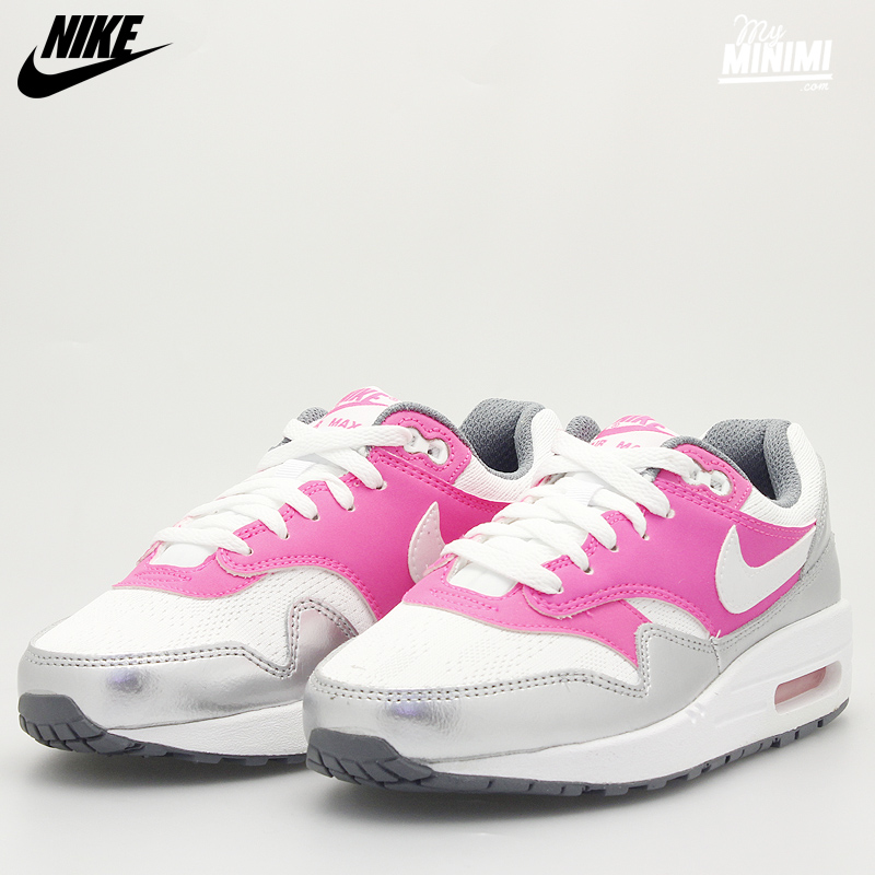 nike air max 1 baskets rose