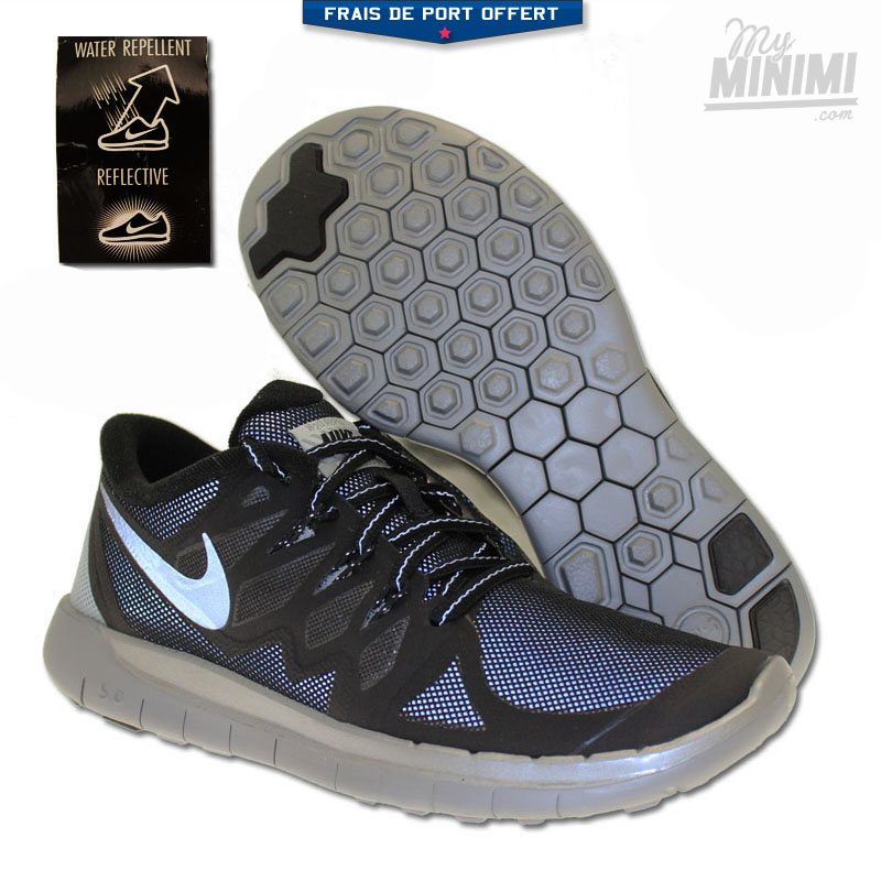 Nike Free 5.0 Enfants gris foncé EU 36 US 4