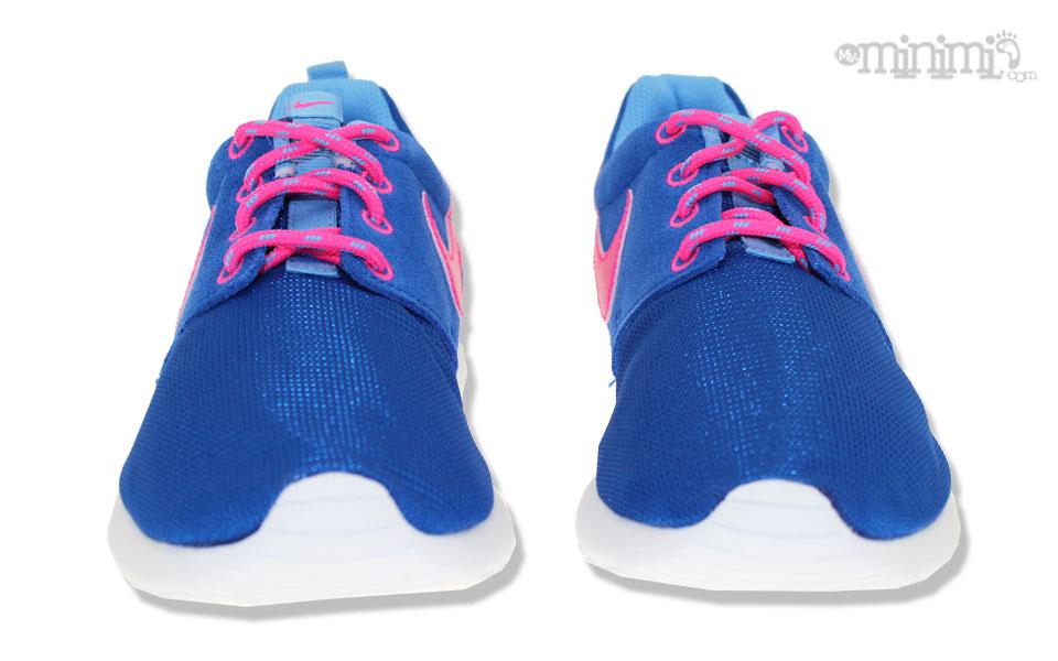 promo code 61404 3e763 nike roshe run bleu et rose