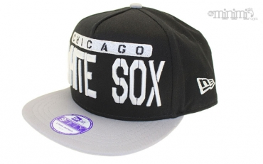 New Era enfant snapback Chicago White Sox - Noir et Blanc