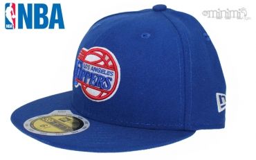 Casquette enfant New Era 59 Fifty NBA - Los Angeles Clippers bleu