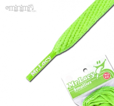 Mr Lacy Smallies Lacets enfants - Vert fluo