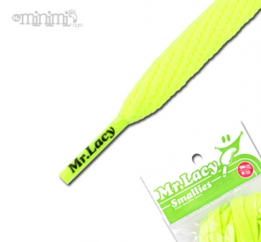 Mr Lacy Smallies Lacets enfants - jaune fluo
