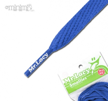 Mr Lacy Smallies Lacets enfants - Bleu royal