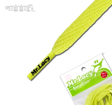 Mr Lacy Smallies Lacets enfants - Jaune