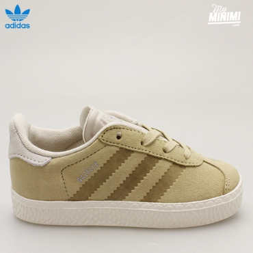 ADIDAS GAZELLE 2 Fashion I - BASKET ENFANT DU 19 AU 27 - BEIGE