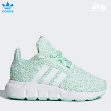 adidas Original Swift Run - baskets enfant - turquoise
