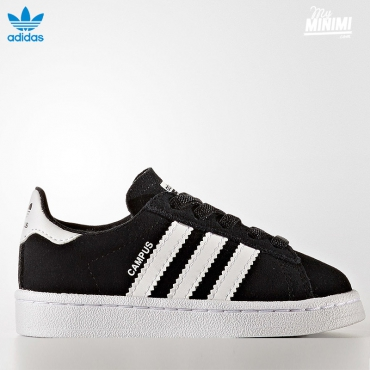 adidas Originals Campus - baskets enfant du 19 au 27 - noir