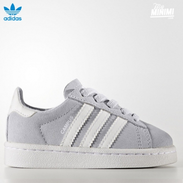 adidas Originals Campus - baskets enfant du 19 au 27 - gris