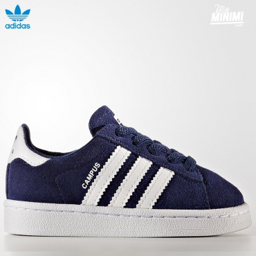 adidas Originals Campus - baskets enfant du 19 au 27 - bleu marine