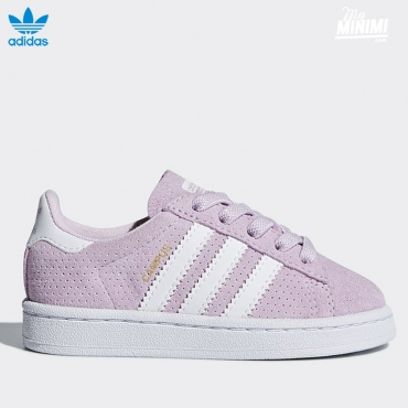adidas Originals Campus - baskets enfant du 19 au 27 - rose