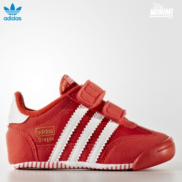 adidas originals DRAGON LEARN 2 WALK - Chaussons pour bébé - Rouge