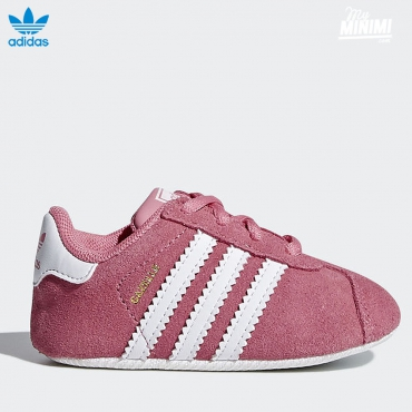 adidas Originals Gazelle - chaussons bébé - rose