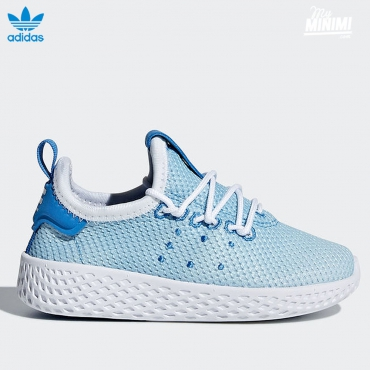 adidas originals Hu Pharrell Williams - baskets enfant du 19 au 27- bleu