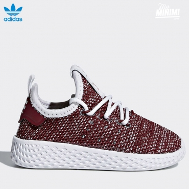 adidas originals Hu Pharrell Williams - baskets enfant du 19 au 27- bordeaux