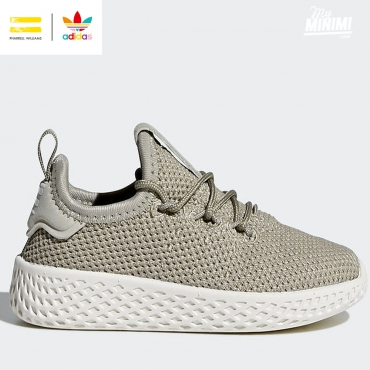 adidas originals Hu Pharrell Williams - baskets enfant du 19 au 27- beige
