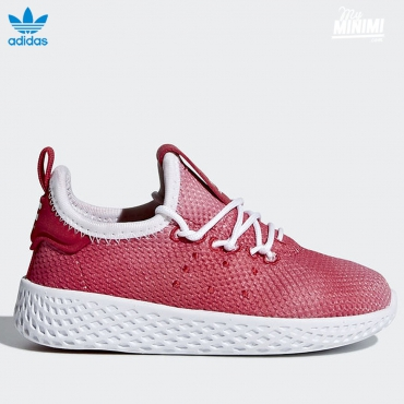 adidas originals Hu Pharrell Williams - baskets enfant du 19 au 27- rouge