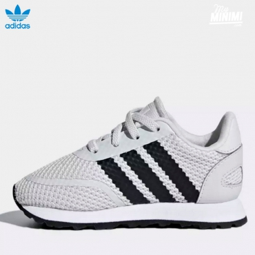 Photo adidas Originals N5923 - baskets enfant - gris clair