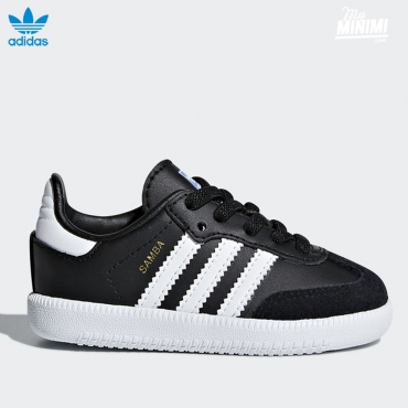 adidas Originals Samba OG EL I - baskets enfants - noir