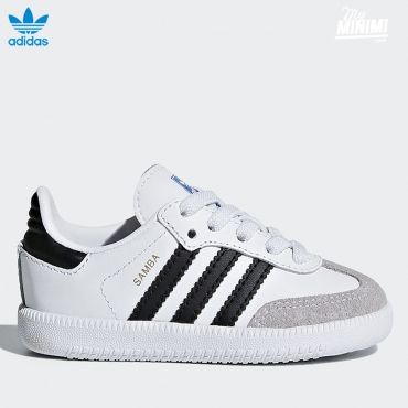 adidas Originals Samba OG EL I - baskets enfants - blanc