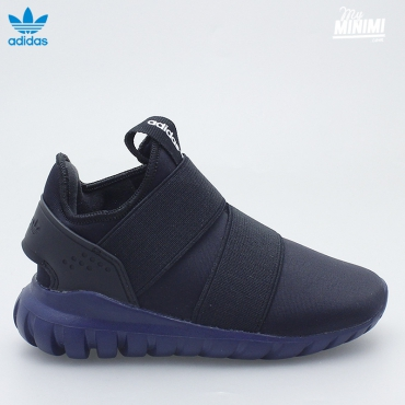 adidas originals tubular radial 360 I - baskets enfant du 19 au 27 - noir et bleu
