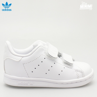 adidas Stan Smith CF I - Baskets enfant du 19 au 27 - Blanc