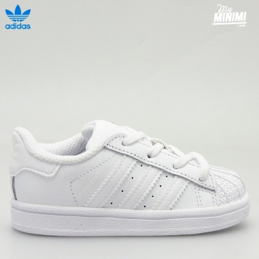 adidas Superstar I - baskets pour enfant du 19 au 26 - blanc