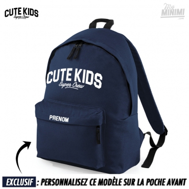 Photo My-minimi Brand sac à dos Cute kids pour enfant - bleu marine
