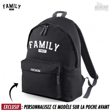 Photo My-minimi Brand sac à dos Family 1st Baseball pour enfant - Noir