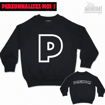 MY-MINIMI BRAND Sweat shirt enfant à personnaliser - Mini Trooper