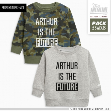 My-minimi Brand sweatshirt Future à personnaliser - multicolor