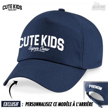 Personnalisé enfant enfants garçons casquette de baseball réglable taille