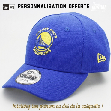 New Era casquette 1 à 3 ans enfant - Golden State Warriors - Bleu