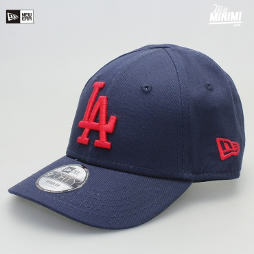 New Era casquette 1 à 3 ans curve enfant- Los angeles Dodgers - Navy et rouge