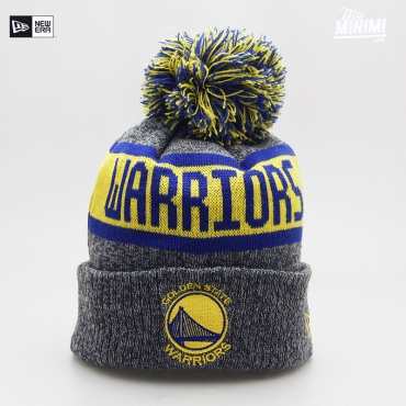 NEW ERA - Kids - Bonnet enfant 4-12 ans Golden State Warrior Gris et bleu